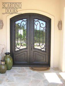 Edinburgh Double Ornamental Wrought Iron Doors