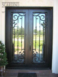 Edinburgh Ornamental Wrought Iron Doors