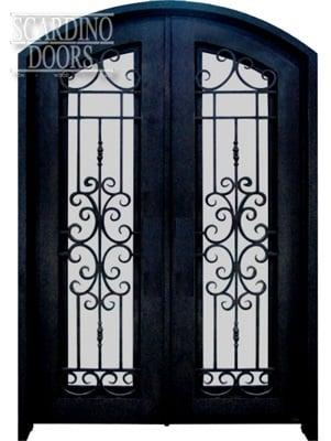 European Collection English Abby Doors with Segmented Arch Top & Custom Door Gallery | Scardino Doors