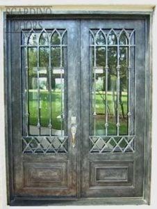 Chateau Ornamental Wrought Iron Doors