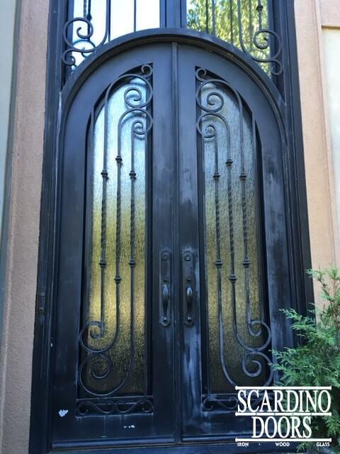 Full Wrought Iron Door Repair \u0026 Restoration & Wrought Iron Restoration \u0026 Repair | Scardino Doors Atlanta
