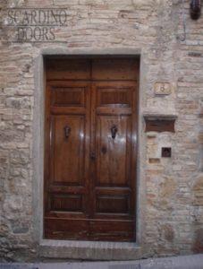 Four Panel Tuscany Custom Wood Doors