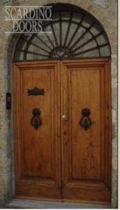 custom wood door 2