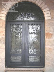 custom wrought iron door 2