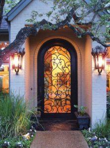 custom wrought iron door 3